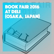 BOOK FAIR 2016 at DELI OSAKA