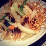 no.242 特製塩あんかけパリパリ麺 @ Lee Tan Tan Cafe アトレヴィ三鷹店
