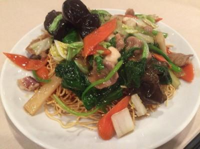 no.339 天天式五目炒麺(かたい麺) @ 天天飯店