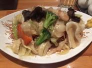 no.346 五目ヤキソバ(カタヤキソバ) @ ウミガメ食堂
