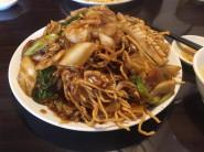 no.350 メニューにない五目会麺(揚げ麺) @ 香港ロジ 原宿店