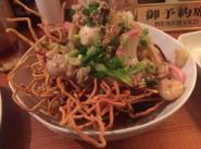 no.352 あんかけかたやきそば @ 玄関食堂