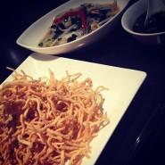 no.195 上海風大豆麺焼きそば(カタヤキver.) @ 中国糖質制限料理 梅包