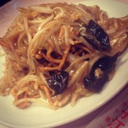 no.192 上海油炒麺(上海式肉硬焼きそば) @ 揚子江菜館