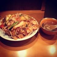 no.3 かた焼きそば(通常盛り) @ 味の店 錦