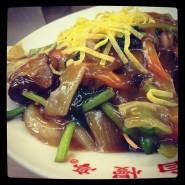 no.93 揚炒麺(かたい焼きソバ) @ 自慢亭